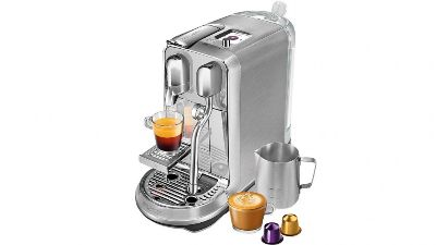 Breville Creatista Nespresso Machine, Brushed Stainless