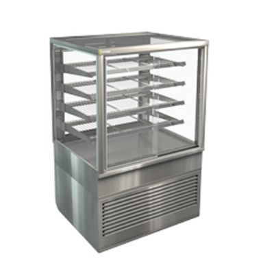 Cossiga BTGHT9 Freestanding Heated Display, 4 Adjustable Shelves