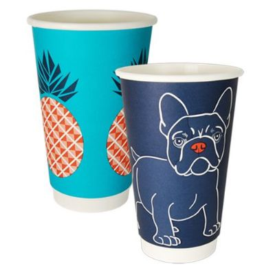Gallery Series 16oz Double Wall Cup Pack Qty 25; Carton Qty 500