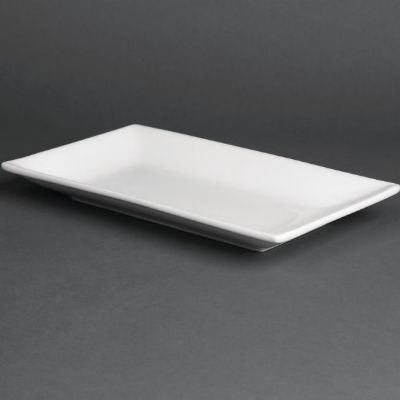 Olympia Serving Rectangular Platters 250mm ; Size: 250(W) x 150(
