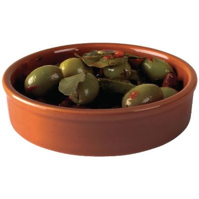 Olympia Rustic Mediterranean Large Dishes 134mm ; 134x 30mm. Ter