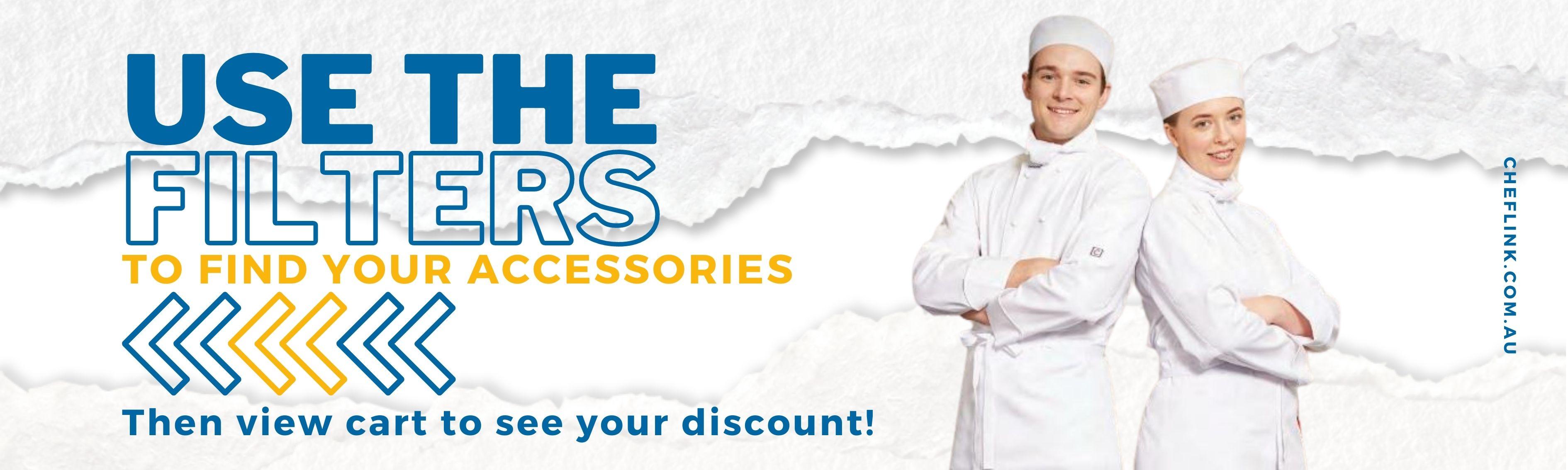 Add your accessories chefscraft TAFE